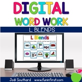 Digital Phonics Word Work - L Blends