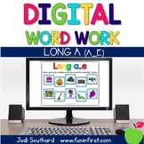 Digital Phonics Word Work - Long a Silent e