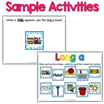 Digital Phonics Word Work - Long a (ai/ay)
