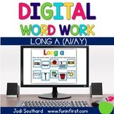 Digital Phonics Word Work - Long a (ai/ay)