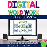 Digital Phonics Word Work - Long o (oa/ow)