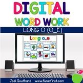 Digital Phonics Word Work - Long o Silent e