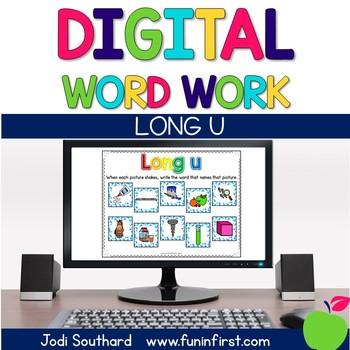 Digital Phonics Word Work - Long u