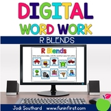 Digital Phonics Word Work - R Blends