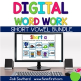 Digital Phonics Word Work - Short Vowel Bundle