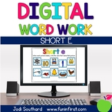 Digital Phonics Word Work - Short e