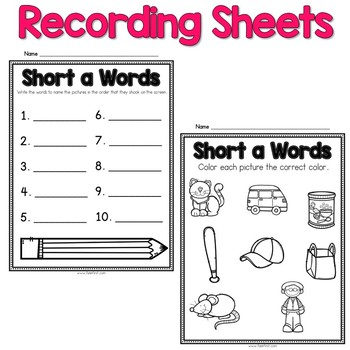 Digital Phonics Word Work - Short i