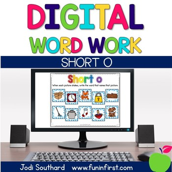 Digital Phonics Word Work - Short o