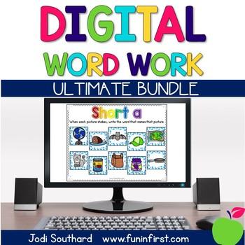 Digital Phonics Word Work - Ultimate Bundle
