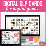 Digital Photo Cards for Use in Digital Editable Games in T