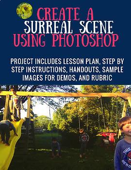 Digital Photography Art Project- Surreal Scene (Salvador Dali)