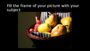 Digital Photography - Basic Composition