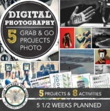 Digital Photography Grab and Go Distance Learning Art Assignments