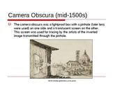 Digital Photography - History of a Camera