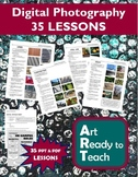 Digital Photography Lesson - 35 LESSONS - Directions & Samples