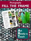 Digital Photography Lesson - FILL THE FRAME - Directions & Samples