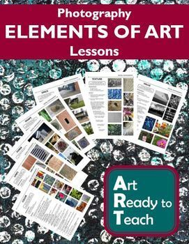 Digital Photography Lessons - ELEMENTS OF ART - Directions & Samples