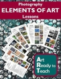 Digital Photography Lessons - ELEMENTS OF ART - Directions