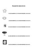 Digital Photography Manual Settings Cheat Sheet