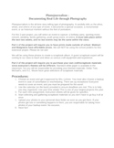 Digital Photography - Photojournalism and Event Photography Unit