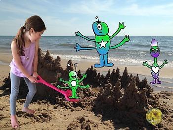 Digital Photography (Photoshop) Project- Creature Invasion Scene