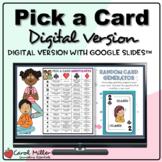 Digital Pick A Card Question Prompts   Icebreakers   Socia