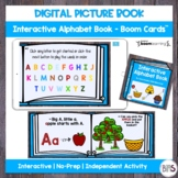 Digital Picture Book | Interactive Alphabet Book | Boom Cards