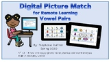 Digital Picture Match: Vowel Pairs with Seesaw Links