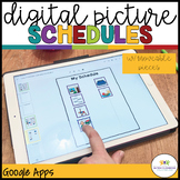 Digital Picture Schedules for Distance Learning in Special