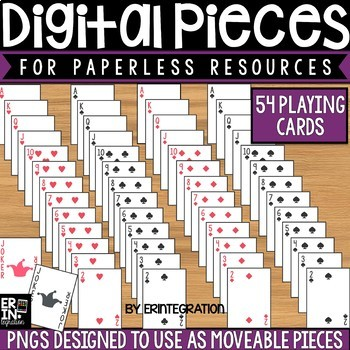 Digital Pieces for Digital Resources: Classic Playing Card Images