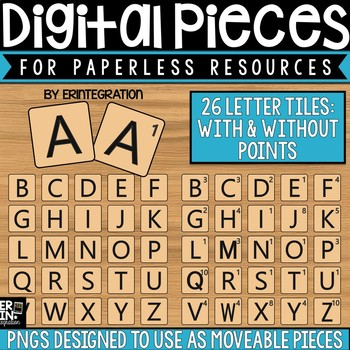 Digital Pieces for Digital Resources: Game Tiles