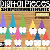 Digital Pieces for Digital Resources: Gnomes (10 Pieces)