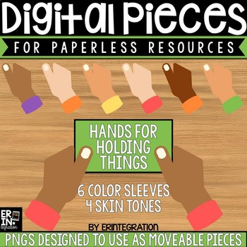 Digital Pieces for Digital Resources: Grasping Hands