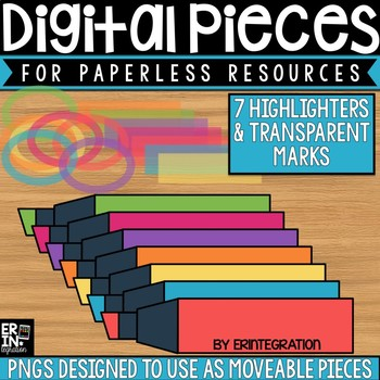 Digital Pieces for Digital Resources: Highlighters