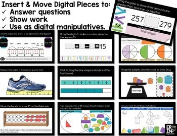 Digital Pieces for Digital Resources: MATH BUNDLE 2