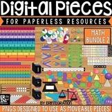 Digital Pieces for Digital Resources: MATH BUNDLE 2