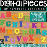 Digital Pieces for Digital Resources: Magnetic Letters Upp