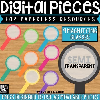 Digital Pieces for Digital Resources: Magnifying Glasses