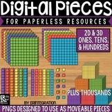 Digital Pieces for Digital Resources: Ones, Tens, Hundreds