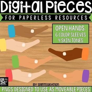 Digital Pieces for Digital Resources: Open Hands