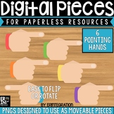 Digital Pieces for Digital Resources: Pointing Hands