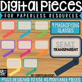 Digital Pieces for Digital Resources: Rectangle Magnifying