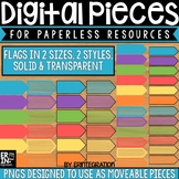 Digital Pieces for Digital Resources: Sticky Flags