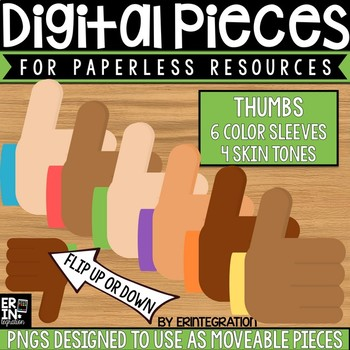 Digital Pieces for Digital Resources: Thumbs Up and Down
