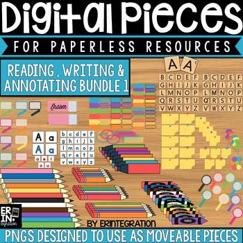 Digital Pieces for Digital Resources: Writing & Annotation BUNDLE