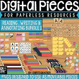 Digital Pieces for Digital Resources: Writing & Annotation BUNDLE