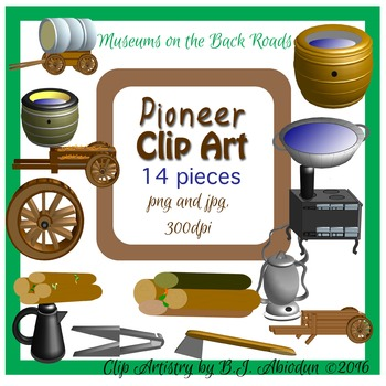 Digital Pioneer Clipart