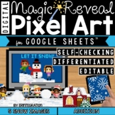 Digital Pixel Art Magic Reveal Mystery ADDITION & SUBTRACT