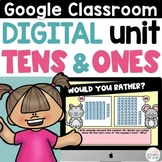 Digital Place Value 1st and 2nd Grade Tens and Ones for Go