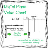 Digital Place Value Chart + PDF